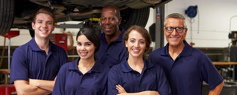 K & A Car Mechanic team